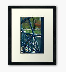 Iron Gate - Roger Williams Park Framed Print