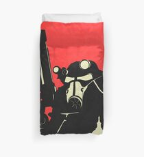 Brotherhood Of Steel Fallout 3 Poster Duvet Cover