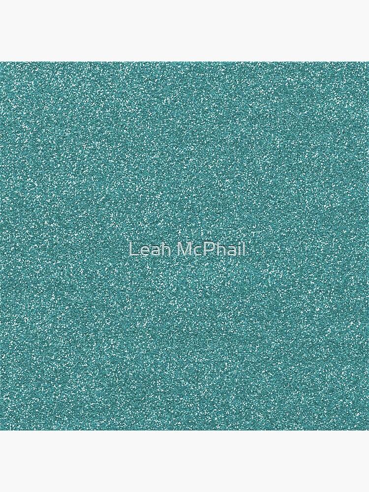 Teal Glitter by LeahMcPhail