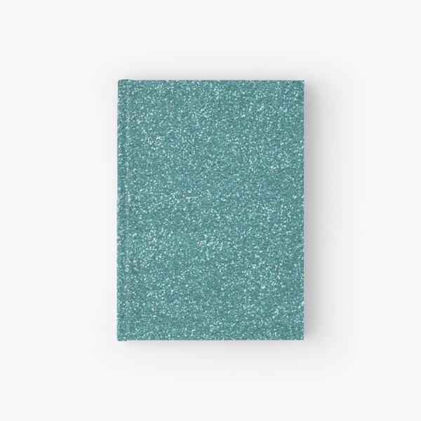 Teal Glitter Hardcover Journal
