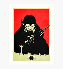 Fallout NCR Ranger Poster Art Print