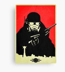 Fallout NCR Ranger Poster Canvas Print