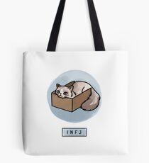 MBTI Cats: INFJ Tote Bag
