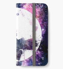 Little Witch Flying Over Moon iPhone Wallet/Case/Skin