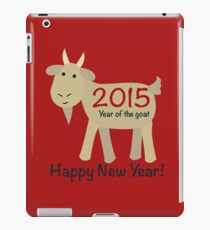 Happy New Year 2015 Year of the Goat iPad Case/Skin