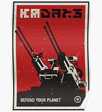 Defend Your Planet! Killzone Poster Poster