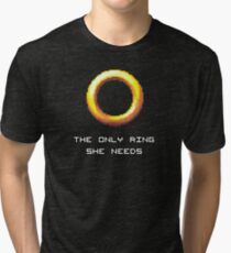 The Only Ring She Needs Tri-blend T-Shirt
