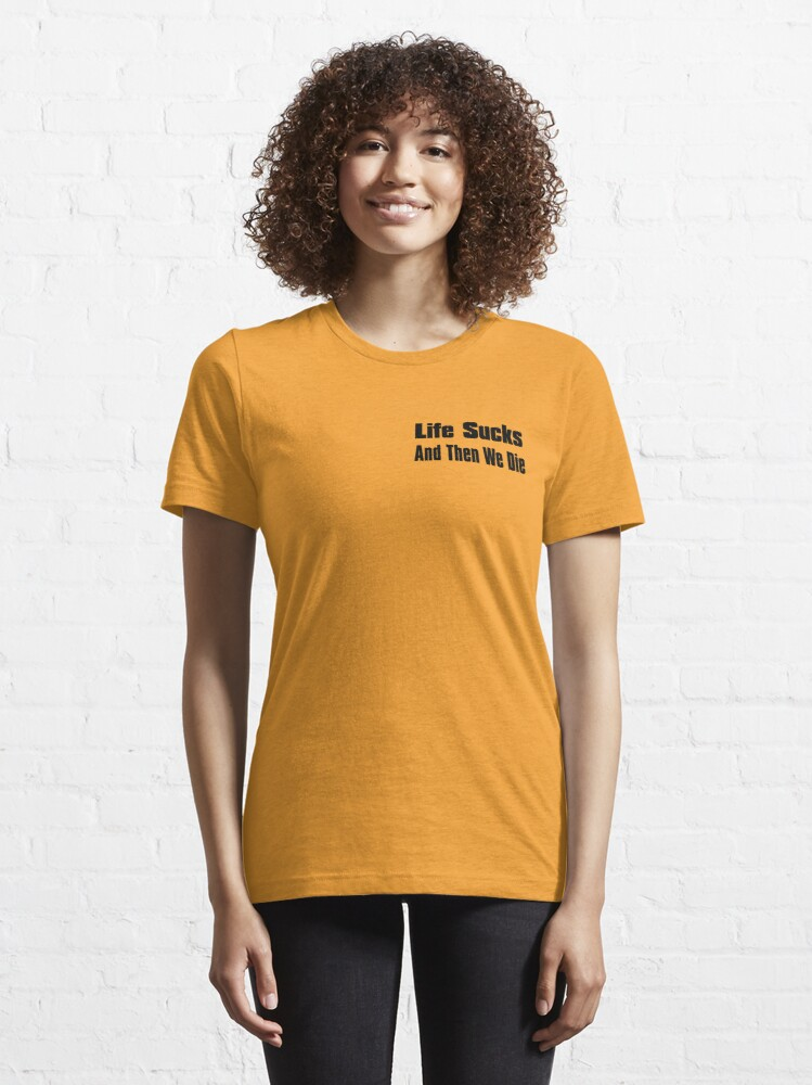 Alternate view of A Bit of Optimism #1 (Small Text) Essential T-Shirt