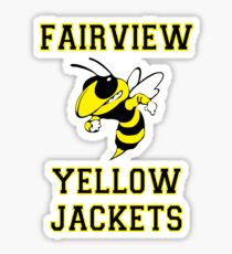 Fairview Yellow Jacket 2017 - 2 Sticker