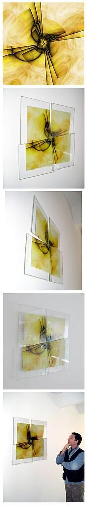 """Instalacion """"Yo Quijote"""" by Arteguille"""
