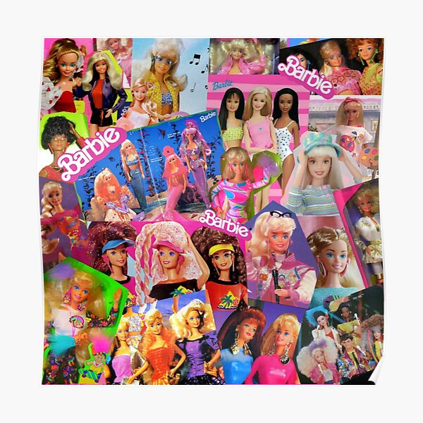 80's barbie Poster