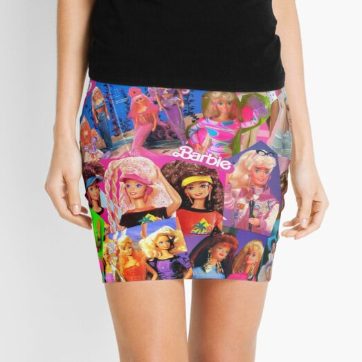 80's barbie Mini Skirt