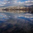 Okanagan Lake by Sheri Bawtinheimer
