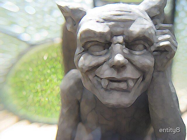 Gargoyle statue by entity8