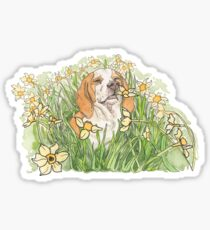 Smell the Flowers Sticker