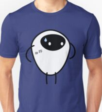 Sweat Face Anime Character T-Shirt