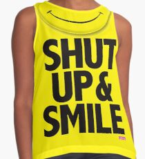 Calliefornia™—Shut Up & Smile Contrast Tank