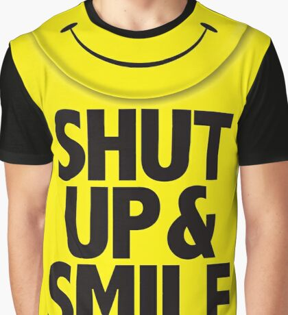 Calliefornia™—Shut Up & Smile Graphic T-Shirt