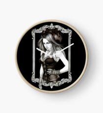 selene - moon goddess Clock