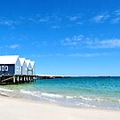 Busselton Jetty Dry Brushed Effect by Coralie Plozza