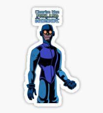 SD Charlie the Robot Sticker