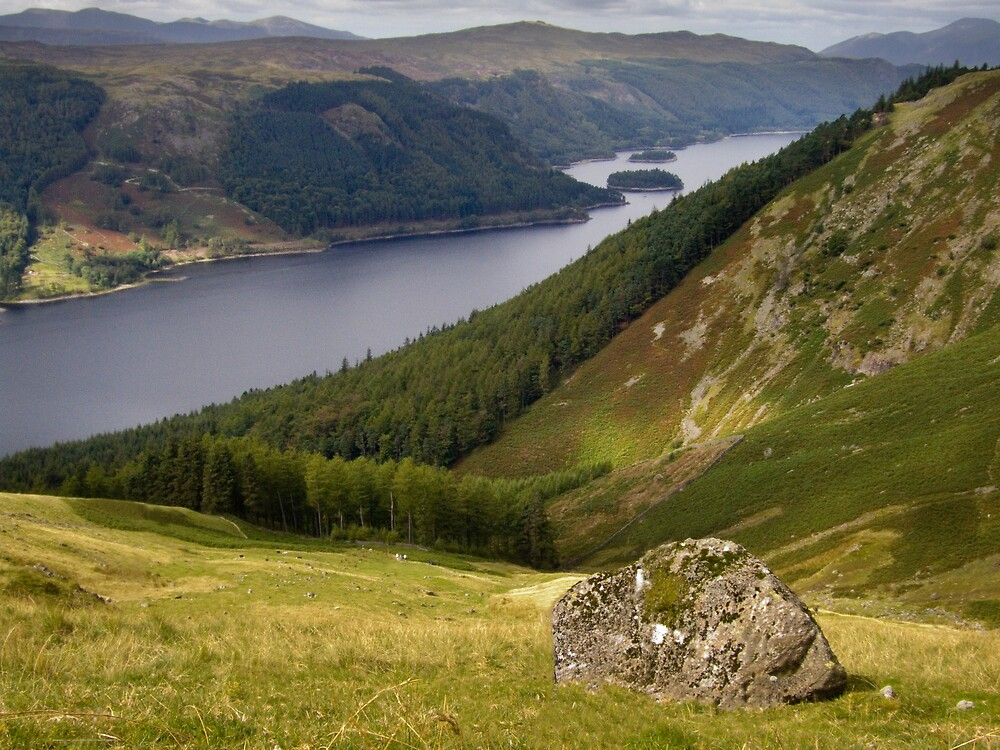 Thirlmere from Helvellyn by Stephen Paylor