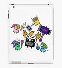 Team Qbby Clash Final Battle  iPad Case/Skin