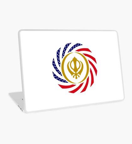 Sikh American Patriot Flag Series Laptop Skin