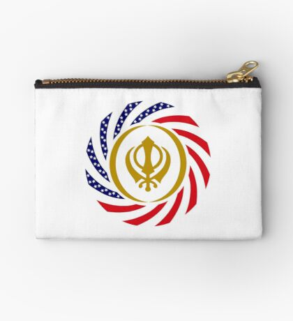 Sikh American Patriot Flag Series Studio Pouch