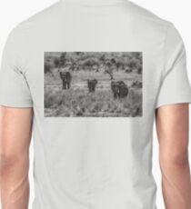 Three Elephants (Loxodonta africana) Unisex T-Shirt
