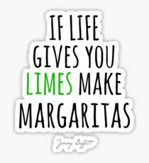 JIMMY BUFFETT - MARGARITAS Sticker