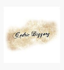 Cedric Diggory Photographic Print