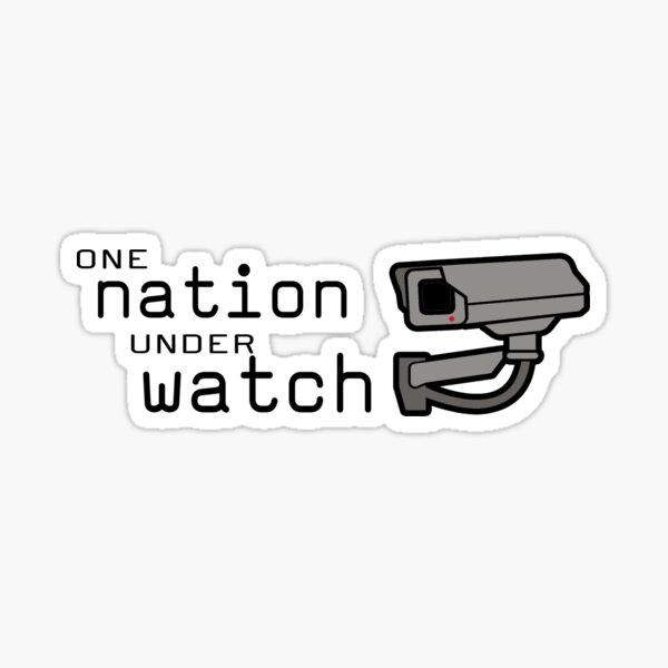 One Nation Under Watch Sticker