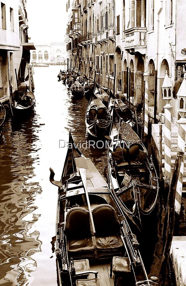 Sleeping Gondolas by DavidROMAN