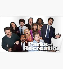 Parks and Rec Group Shot!! Poster