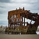 Shipwreck The Peter Iredale by Jeannie Peters