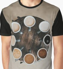 Coffee Roulette Graphic T-Shirt