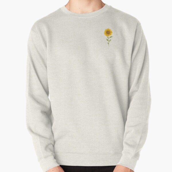 Lovely Sunflower Pullover Sweatshirt