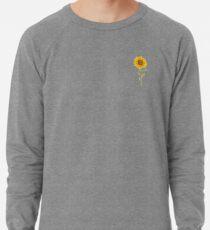 Schöne Sonnenblume Leichter Pullover