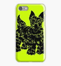 Shaggy Scotty Dog  iPhone Case/Skin