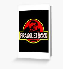 Fraggles Rock! Greeting Card