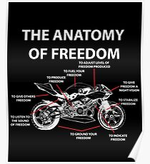 The Anatomy Of Freedom Shirt Poster