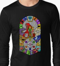 History of Hyrule Stained Glass T-Shirt