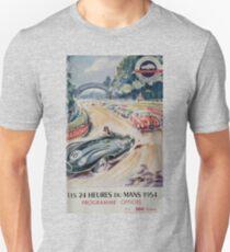 24hs Le Mans, 1954, vintage poster T-Shirt