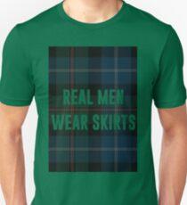 Real Men Wear Skirts (Light Shirts) T-Shirt
