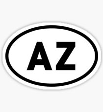 AZ Sticker