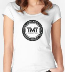 TMT | The Money Team | Tough Times Don't Last, Tough People Do Women's Fitted Scoop T-Shirt