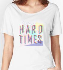 Camiseta ancha para mujer Hard Times