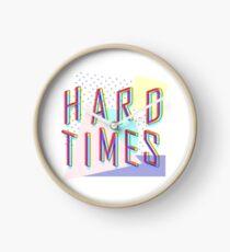 Hard Times Clock