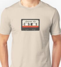 Vintage Retro Awesome Mix Cassette Tape Unisex T-Shirt